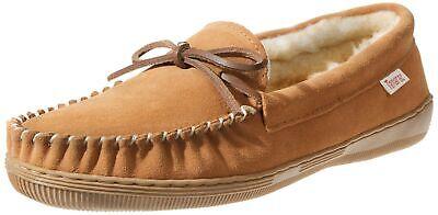 Tamarac Men/'s Camper 7161 Leather Upper Indoor//Outdoor Loafer Moccasin Slippers
