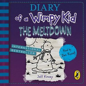 Diary of a Wimpy Kid: The Meltdown (book 13) by Dan Russell - Audio CD 9780241363072