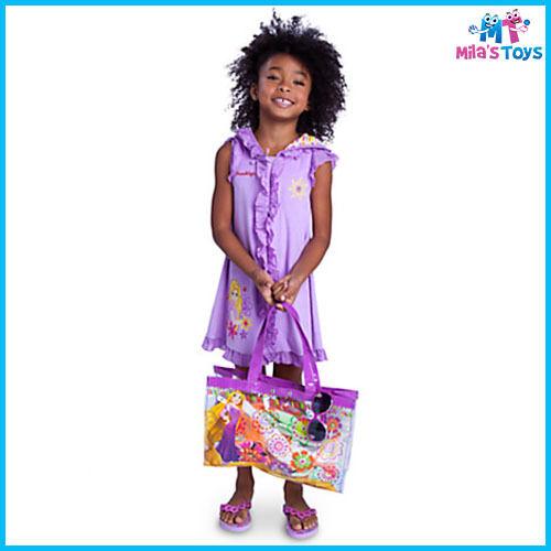 Disney Tangled Rapunzel Swim Bag w// Detachable Buddy Bag brand new