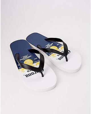 Size Us 9//10 Corona Logo. Corona Flip Flops Woman..