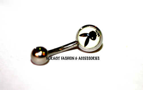 316l Surgical Steel *SMART PLAYBOY* Navel//Belly Ring NV158