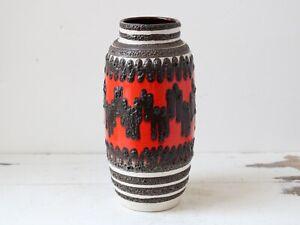 Mid-Century-West-German-Fat-Lava-Vase