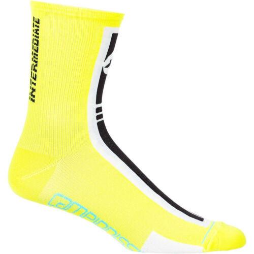 Assos S7 Intermediate Bike Socks Yellow Volt