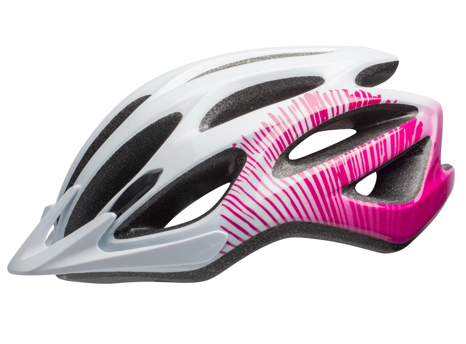 Bell Coast Joy Ride señora bicicleta casco talla 50-57cm blanco blanco blanco rosa 2018 7db958