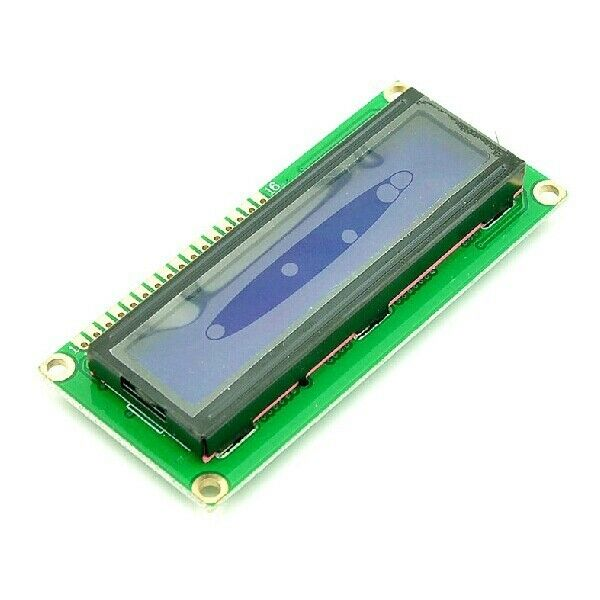 1602 16x2 Character LCD Display Module HD44780 Controller Blue Blacklight