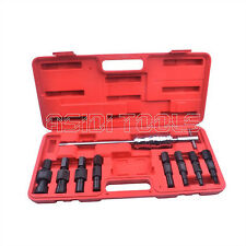 9Pc Blind Hole Slide Hammer Bearing Puller Internal Extractor Removal Tools Kit