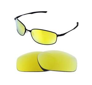 b0a8f1eb50 NEW POLARIZED 24k GOLD REPLACEMENT LENS FOR OAKLEY TAPER SUNGLASSES ...