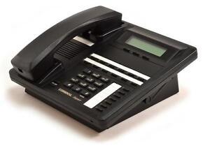 Lot-of-10-Refurbished-Comdial-SCS-Impact-8312SJ-FB-Black-Display-Speakerphone