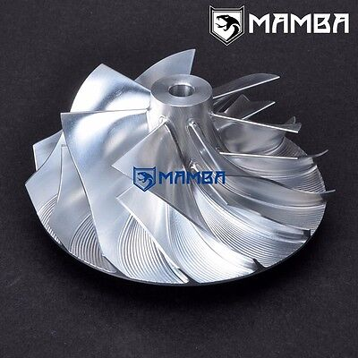 MAMBA Turbo Billet Compressor Wheel For Holset  HX50 6+6 70.30 // 101.00 mm