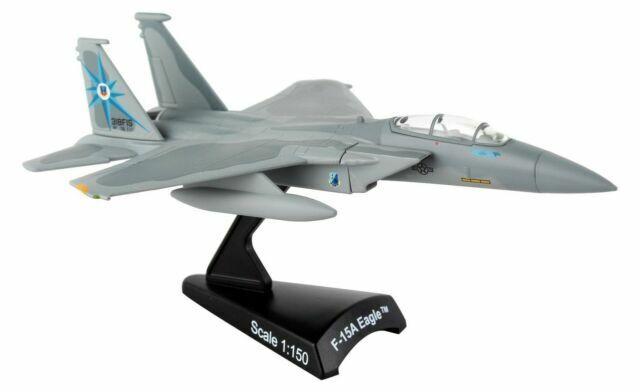 USAF F15A EAGLE 318 FIS GREEN DRAGONS DARON 1:150 SCALE DIECAST DISPLAY MODEL