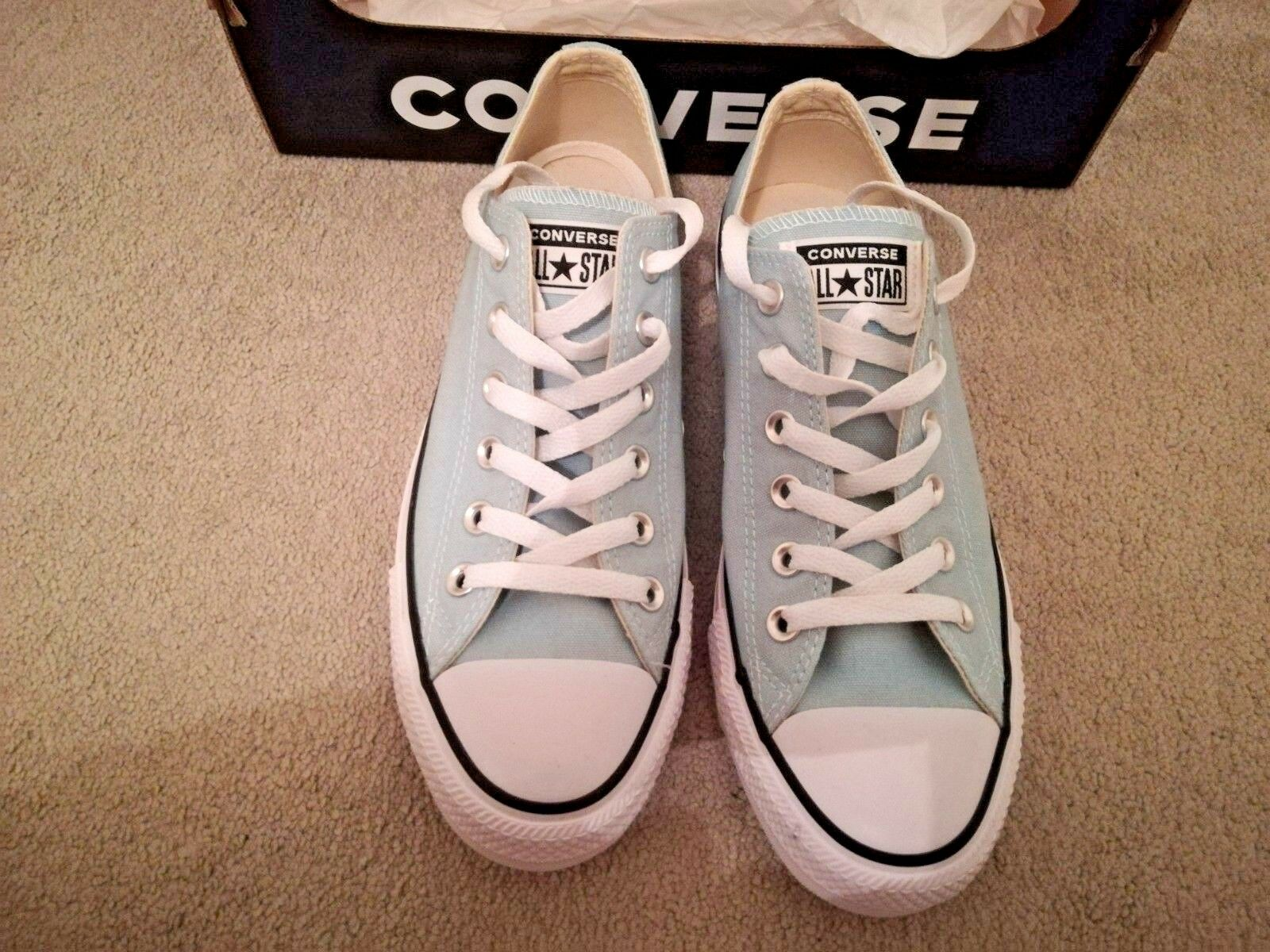 Converse Converse Converse Chuck Taylor All Star Classic OX Size 7 - BRAND NEW 160460C Ocean Bliss b98870