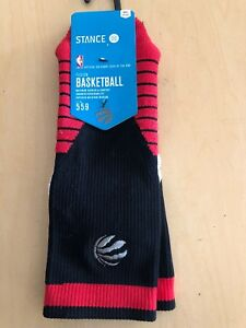 STANCE FUSION BASKETBALL CREW SOCKS 2016 TORONTO ALL STAR WEST MENS SIZE LARGE 9-12