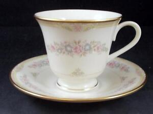 Lenox-CHESAPEAKE-Footed-Cup-amp-Saucer-Set-MINT-SHOWROOM-INVENTORY