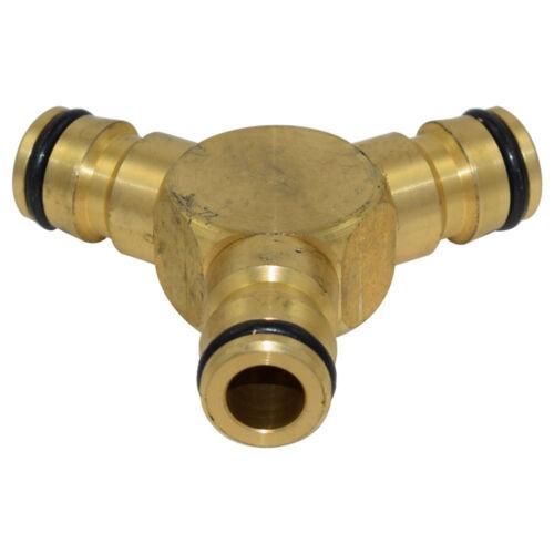 SCHNELLKUPPLUNG SYSTEM aus Messing für Wasserschlauch Schlauchkupplung DE