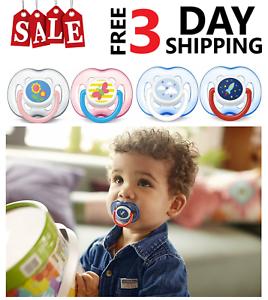 Chupetes Chupones Avent Para Bebes Recién Nacidos Seguro Y Adecuado Para Tu Bebe Ebay