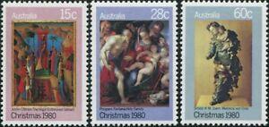 Australia-1980-SG758-Christmas-set-MNH