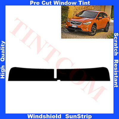 Pre Cut Window Tint Sunstrip for Subaru XV 5 Doors 2012-... Any Shade