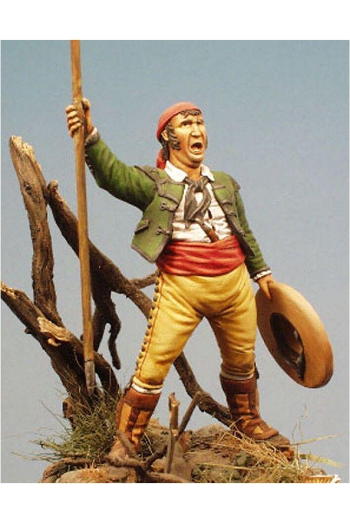 Spanish Cavalry Lancer at Peninsular War 54mm 1 32 Tin Painted Toy Soldier   Art