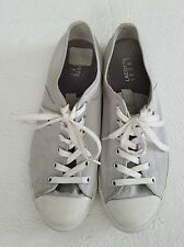 Lacoste Marcel Fashion Sneakers Casual Shoes Mens Size 11 Gray Canvas Euro 44.5