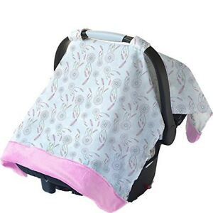 Image Is Loading NEW Itzy Ritzy Infant Car Seat Canopy Muslin
