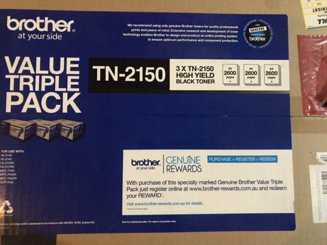 Brother TN-21503PK Original Toner Cartridge Tri-pack - Black