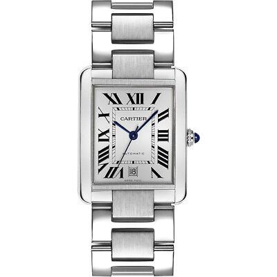 Ref. W5200028 - Brand New Cartier Tank Solo Stainless Steel Men's Watch
