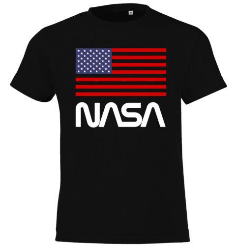 Kinder /& Baby T-Shirt NASA USA Space Astronaut Force X Apollo Logo Rocket Mars