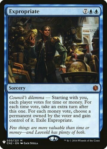 * MTG * expropriate-Conspiracy Take The Crown Mythic from Mystery BOOSTER