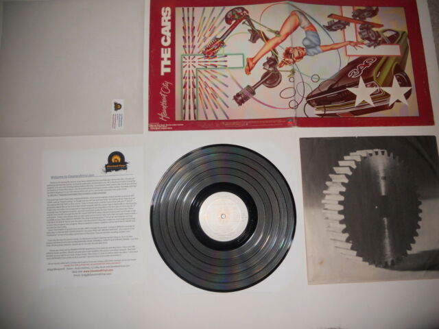 Cars Heartbeat City RCA Club EXC Press Gatefold Cover Ultrasonic CLEAN