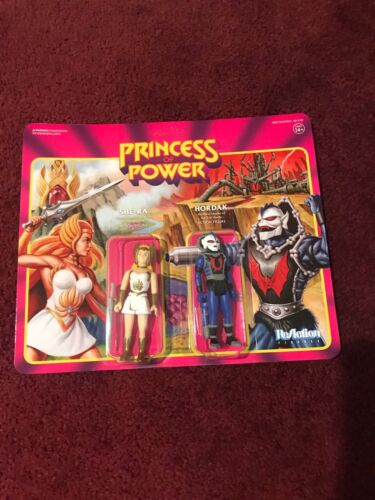 Super 7 Reaction San Diego comic-con 2018 Exclusive Princess of Power She-Ra /& Hordak