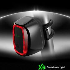 Quality X6 USB Rechargeable Cycling Bike Rear Tail Warning Flashing Lamp Light