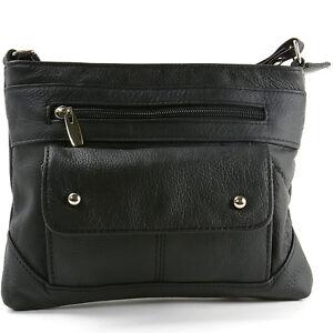 Image Is Loading Women 039 S Genuine Leather Handbag Cross Body