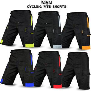 Mtb cyclisme shorts off road short downhill design unisexe dimex taille m à xxl