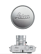 Metal Silver 36mm Lens Cap for Leica A36 ELMAR 35/50/90 SUMMAR HEKTOR 28/50/135