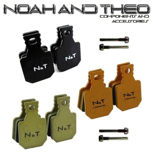 Noah /& Theo Magura MT5 MT5E Type 8.1 Semi Ceramic Sintered Disc Brake Pads Screw