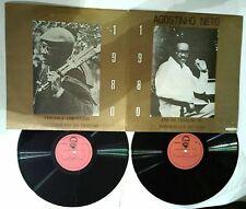 AGOSTINHO NETO 1980 ANO DA CRIACAO DA ASSEMBLEIA DO POVO , 2 LP, ANGOLA