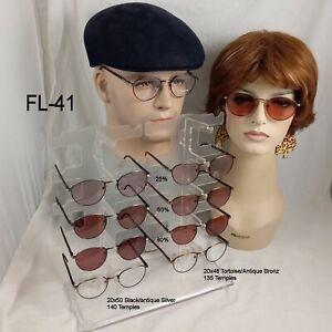 FL-41 Shades - OptiMode Vintage Eyeglass Frames & Case