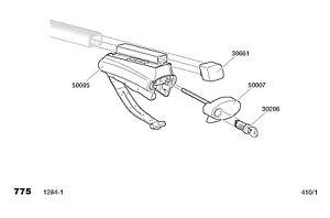 thule rapid system foot kit 757 roof rails thule 757. Black Bedroom Furniture Sets. Home Design Ideas
