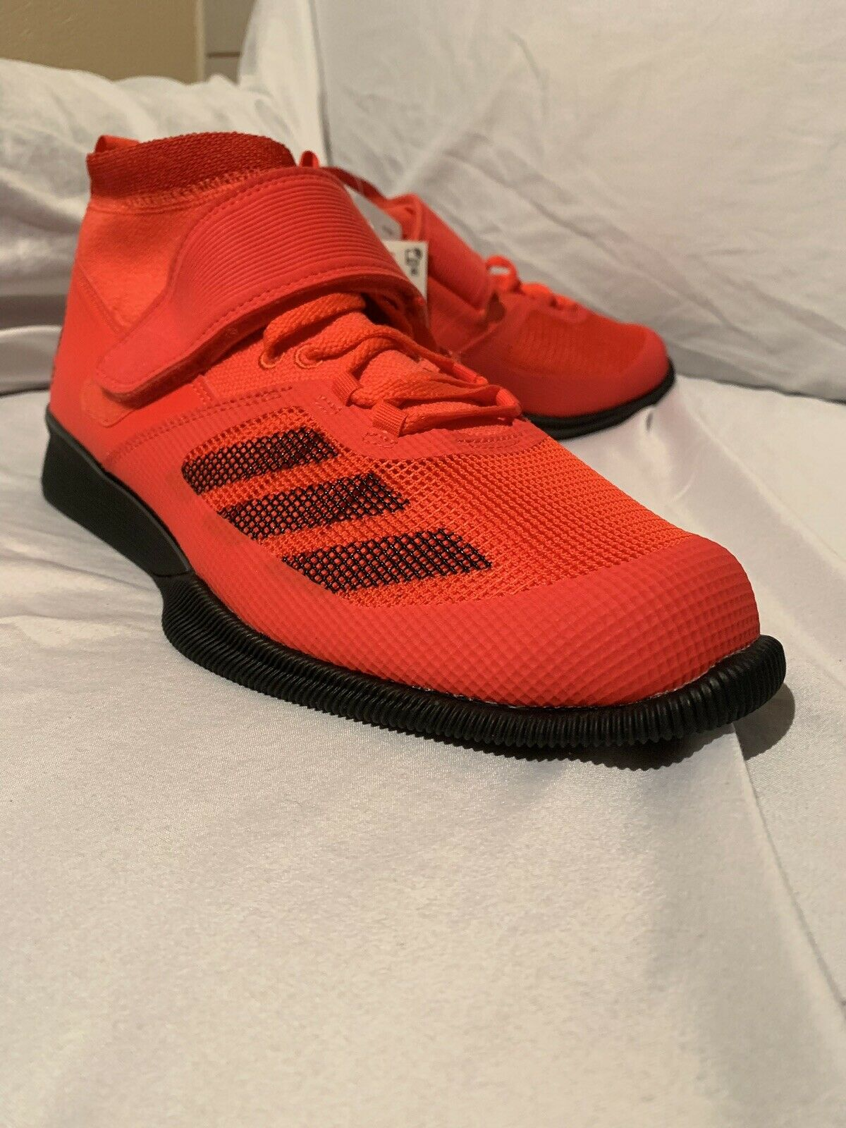New Men's US 11 Adidas Crazy Power RK Weightlifting shoes Red Black BB6361