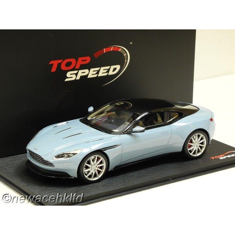 Aston Martin DB11 verre givré Haut Bleu VITESSE modèle 1 18  TS0022
