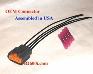 details about new mazda mx 6 distributor connector plug pigtail wire harness 93 97 Mazda MAF Sensor
