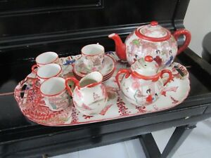 ANTIQUE-JAPANESE-TEA-SET-ON-TRAY-12-PCS-1900s-3B