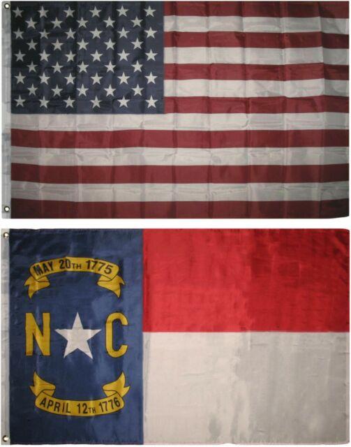 3x5 U.S Navy Emblem Nylon Sleeve with Gold Fringe Flag 3/'x5/'
