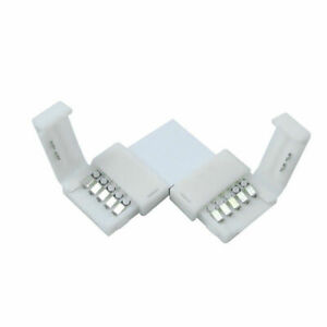 L-Forme-Connecteurs-sans-Soudure-Coin-pour-RGB-5Pcs-5pin-5050-LED-10mm-Hot-Vente