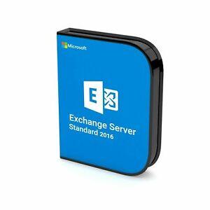 Details about Microsoft Exchange Server 2016 Standard Activation Key    Digital Delivery