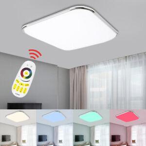 Details zu 24W-96W LED Deckenleuchte RGB Deckenlampe Wohnzimmer  Schlafzimmer Lampe Dimmbar