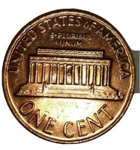 1977 D Lincoln Penny Error Doubled Die  DDO
