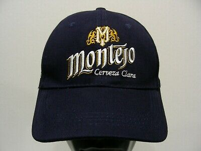 Montejo Cerveza Clara Navy Blue One Size Adjustable Ball Cap Hat Making Things Convenient For Customers