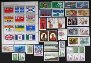 CANADA-Postage-Stamps-1979-Complete-Year-Set-collection-Mint-NH-See-scans