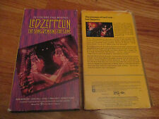 In Concert and Beyond LED ZEPPELIN - THE SONG REMAINS THE SAME VHS Video Tape